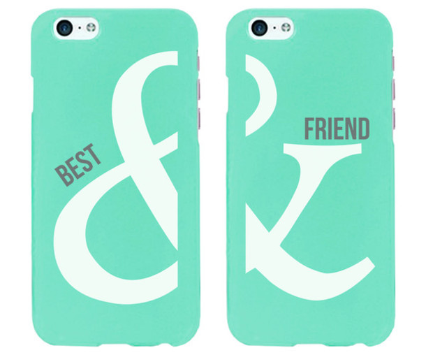 phone cover iphone 6 plus iphone 6 case iphone 6 case iphone 6 plus iphone 6 plus iphone 6 cover mint iphone case mint bff best friend phone cases best friends jewelry best friends accessories best friend phone cover bff phone covers bff phone accessories &