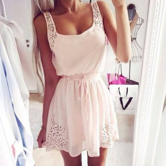 cute dress white dress
