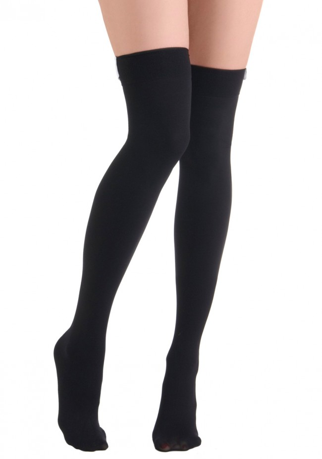 04482dc1e02 Images of Black Thigh High Socks -  SpaceHero