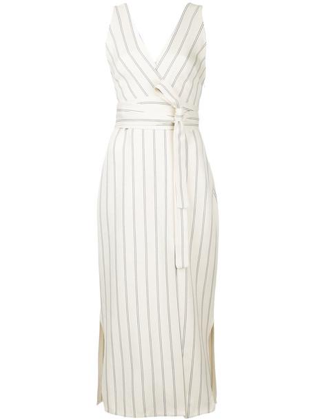KHAITE dress women white cotton