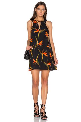 dress shift dress sleeveless black