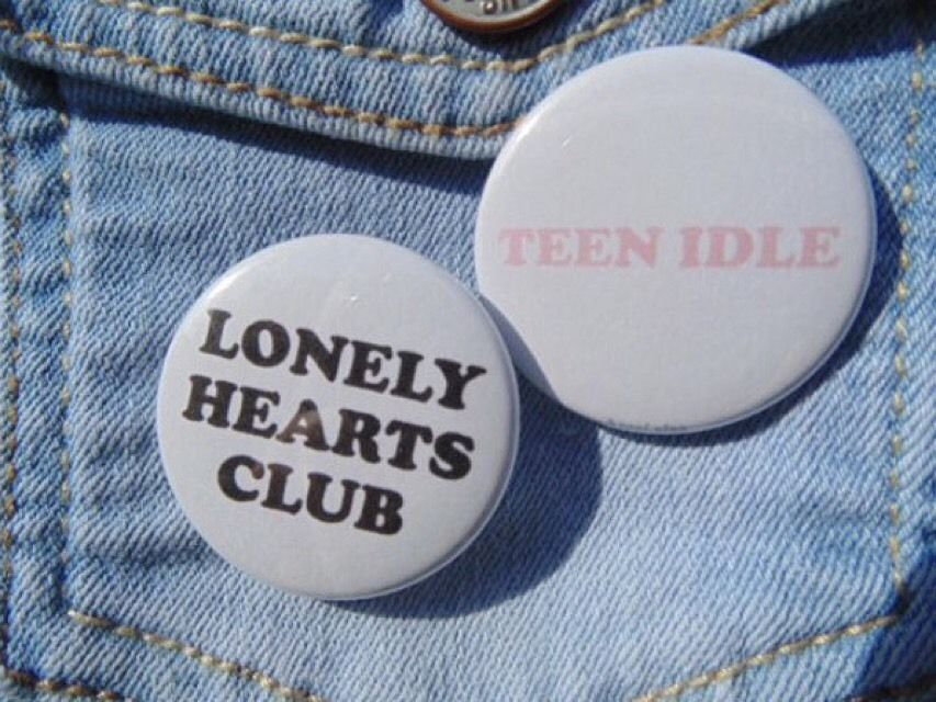 Marina And The Diamonds Lonely Hearts Club Teen Idle Button Tumblr Set Of 2  Pins