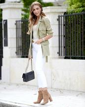 jeans,white jeans,boots,high heels boots,shoulder bag,blazer,top,belt