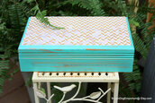 box,annie,white,painted,home decor,green,living,one,cottage,velvet,wood,chic,girl,and,storage,lilac,bins,home accessory
