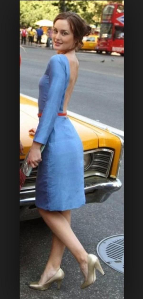 dress blair waldorf gossip girl gossip girl blair dress blue dress serena van der woodsen