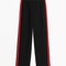 & other stories | red panel trousers | black