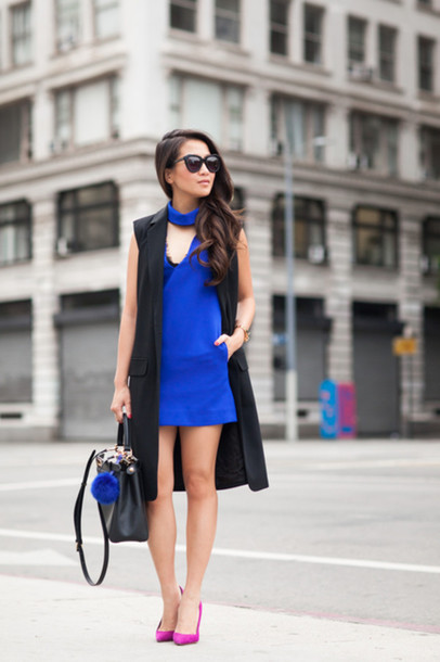 Jacket: wendy's lookbook, blogger, dress, shoes, bag, sunglasses ...