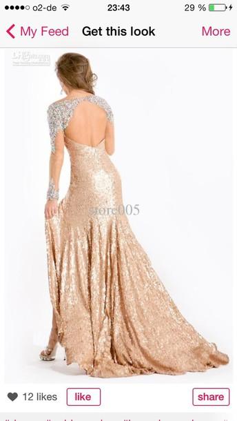 dress paillettes sparkle glitter cut-out