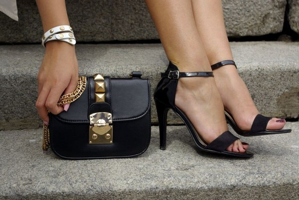 bag sandals gold bracelets fashion brand Choies shoes