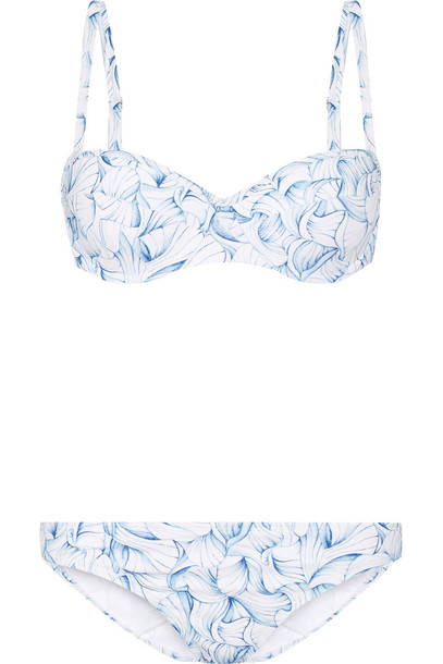 Tory Burch bikini light blue light blue swimwear