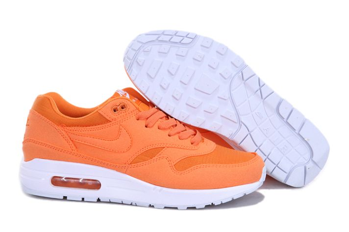 "Best Nike Air Max 1 Mens ""Ripstop Brights"" Orange/White"