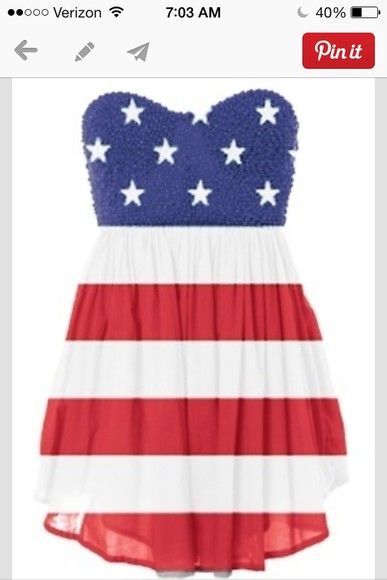 american flag dress cute dress fourth of july