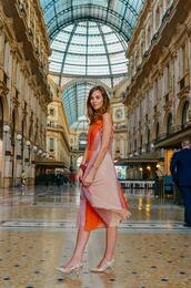 vogue haus,blogger,dress,bag,midi dress,slingbacks