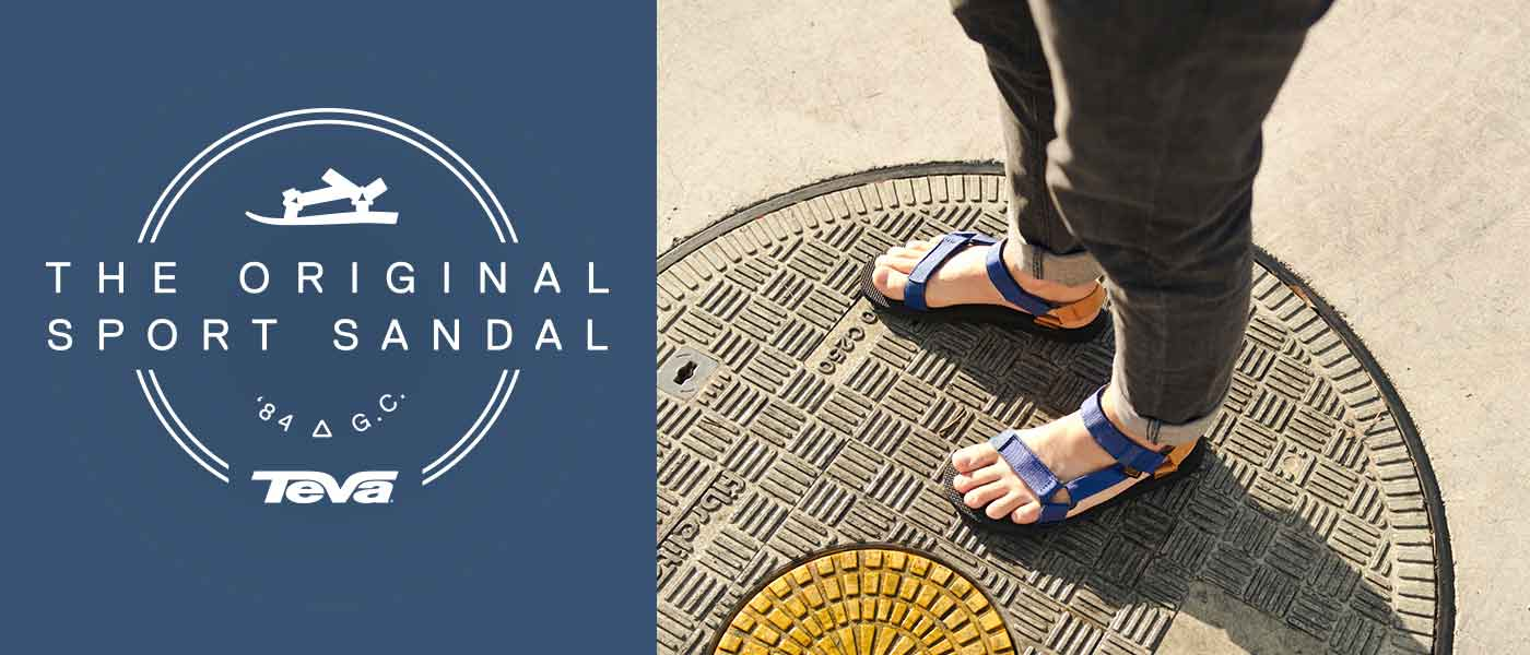 Teva Original Sandals | Original Sports Sandals for Over 30 Years | Free Shipping