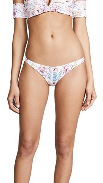 bikini bikini bottoms basic tropical soft swimwear