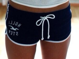 shorts blue shorts hollister