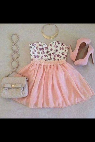 bag dress bows