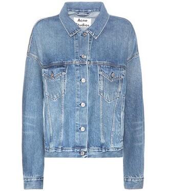 jacket denim jacket denim vintage blue