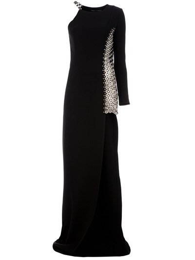 Anthony Vaccarello Embroidered Dress - L'eclaireur - Farfetch.com