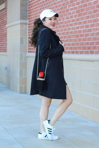 gracefullee made blogger shirt coat skirt shoes make-up bag hat jewels