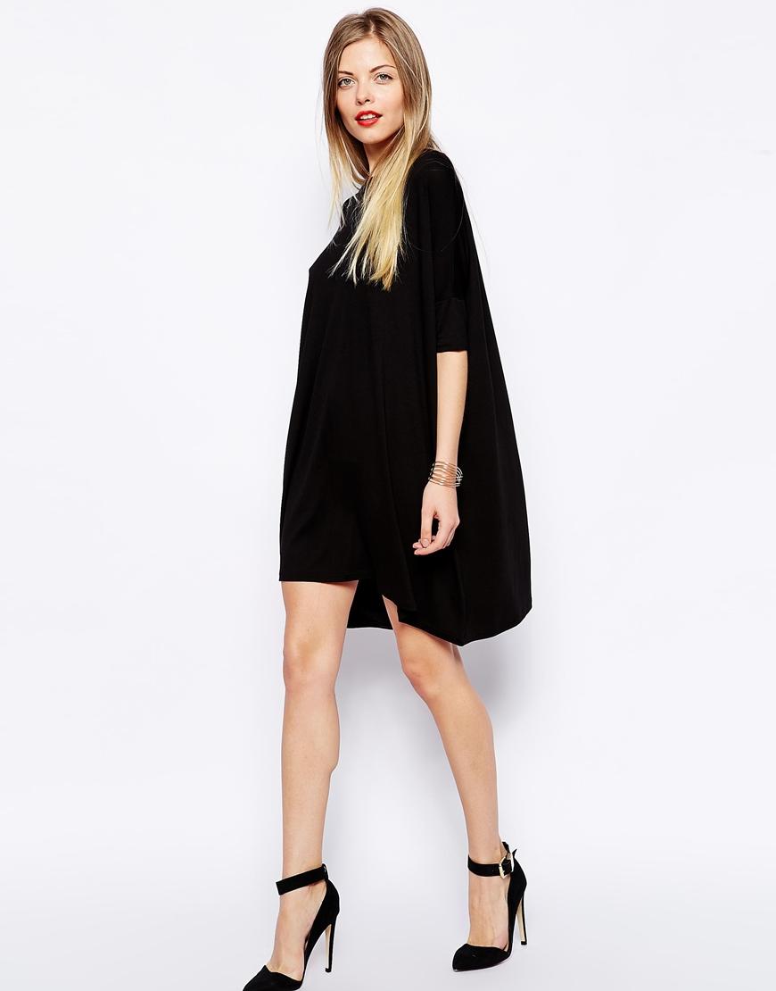 ASOS The T-Shirt Dress with Short Sleeve at asos.com
