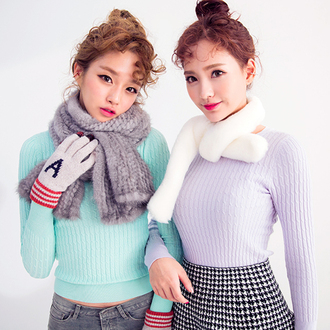 sweater macaron korean fashion korean style sexy slim fit slim fit sweater pastel fairy kei pastel goth petite lilac pink mint