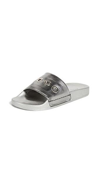 South Parade dark silver shoes