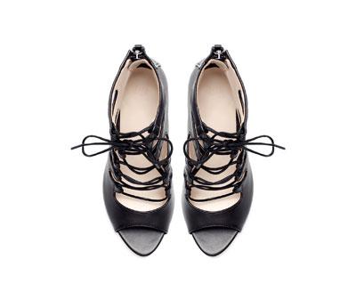 ZAPATO ABOTINADO PIEL - Zapatos - Mujer - Nueva Colección | ZARA España