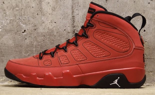 Nike air jordan ix 9 retro motorboat jones kilroy jones pack red october