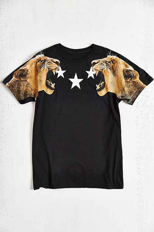 Lion Stars Tee - Urban Outfitters