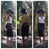 blouse,swimwear,bodysuit,white bodysuit,backless bodysuit,deep v neck bodysuit