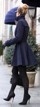coat,black trench coat,black coat,skater skirt,winter coat,warm,jacket,navy,black