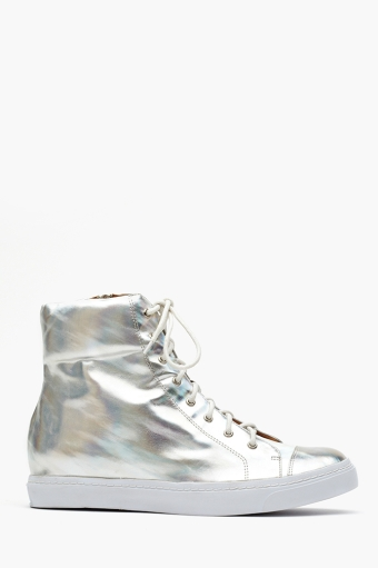 Ziggy hologram sneaker  in  shoes sale at nasty gal