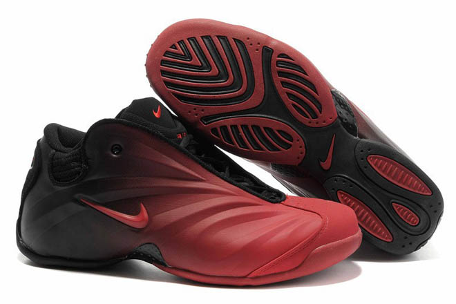 Men Air Flightposite Black and Red Sneaker New 2013 -  $117.79