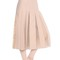 Embellished crepe couture & tulle skirt