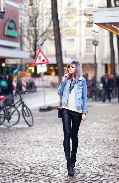 bekleidet blogger jacket pants top bag shoes