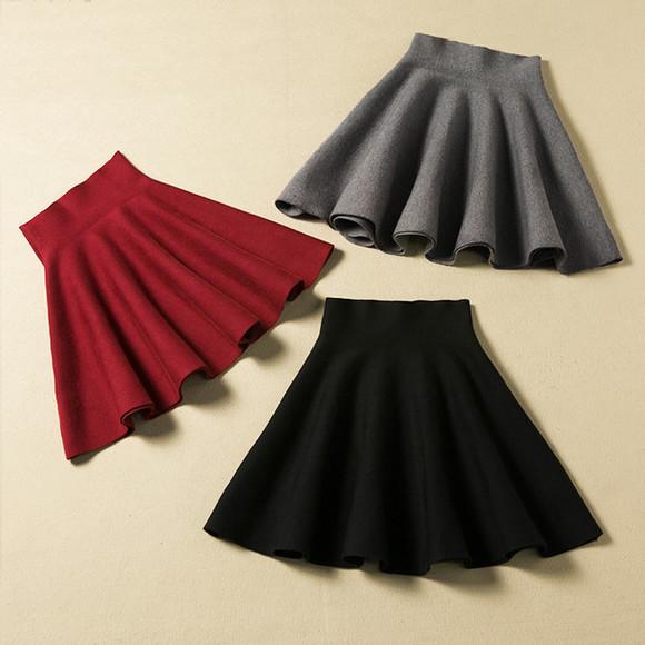 burgundy skirt women skirts autumn skirts women fashion