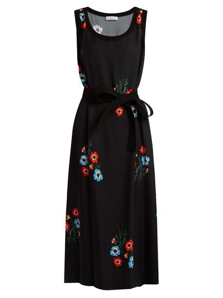 Sonia Rykiel dress floral print black