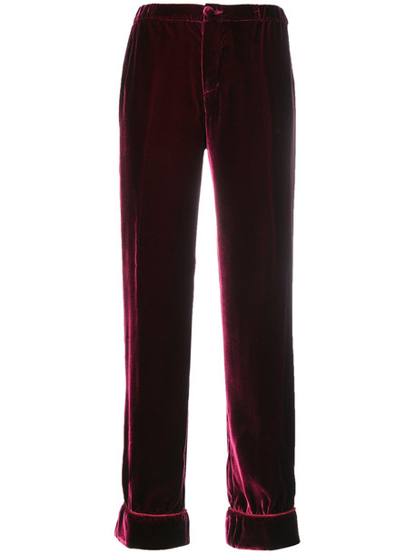 F.R.S For Restless Sleepers women purple pink pants