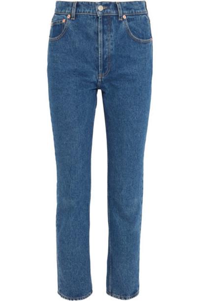 Balenciaga jeans high