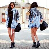 coat,jeans,print,style,casual,fashion,jacket,denim,denim jacket