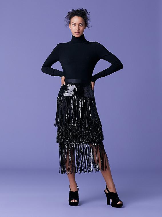 Jacki Sequin Skirt