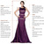 Beading La Femme Dress 19009 Strapless Majestic Purple Long Homecoming Dresses 2013 [La Femme Dress 19009] - $165.00 : Juniors' Dresses | Homecoming Dresses for Juniors