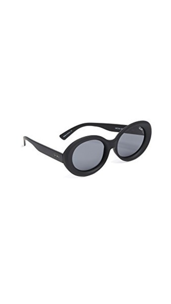 Quay sunglasses smoke black