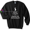 Keep calm sweatshirt gift sweater adult unisex cool tee shirts