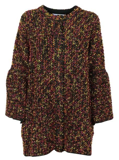 Blumarine coat multicolor