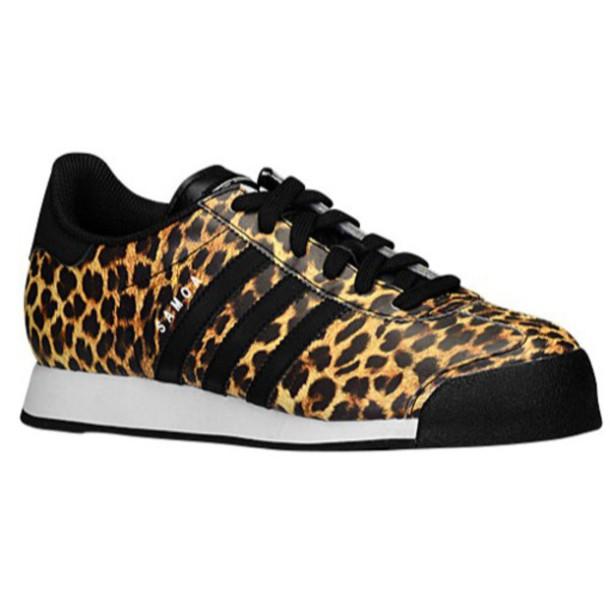 shoes sneakers adidas originals adidas originals samoa black leopard print leopard print size 9