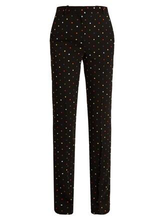 cross black pants