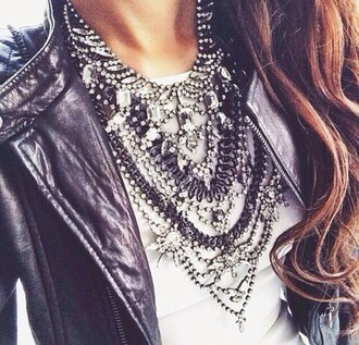 jewels hot statement necklace necklace jewelry classy luxury luxurious edgy edge trendy gorgeous sexy feminine romantic glitter streetwear streetstyle sparkle