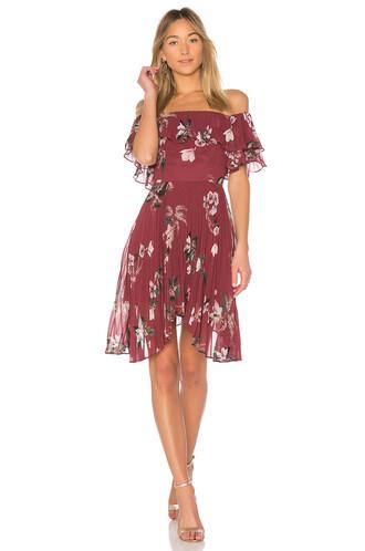 dress mini dress mini dance ruffle red